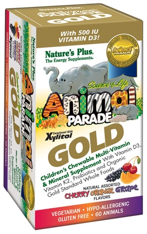 Image of Animal Parade GOLD Chewable Assorted