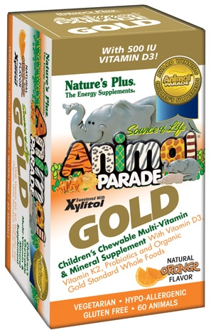 Image of Animal Parade GOLD Chewable Orange