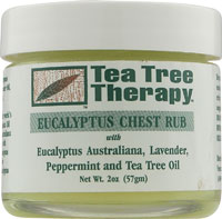 Image of Tea Tree Therapy Eucalyptus Chest Rub