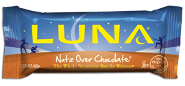 Image of Luna Bar Organic Nutz over Chocolate