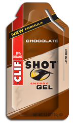 Image of Clif SHOT Energy Gel Organic Chocolate