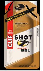 Image of Clif  SHOT Energy Gel Organic Mocha