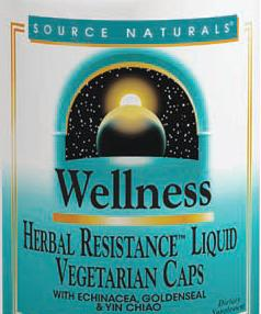 Image of Wellness Herbal Resistance Liquid Capsule
