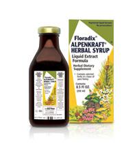 Image of Salus Floradix Alpenkraft Herbal Syrup