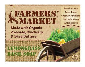 Image of Bar Soaps Lemongrass & Basil