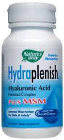 Image of Hydraplenish Hyaluronic Acid plus MSM