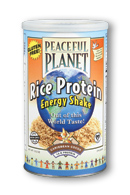 Image of Peaceful Planet Rice Protein Powder Carribean Cocoa