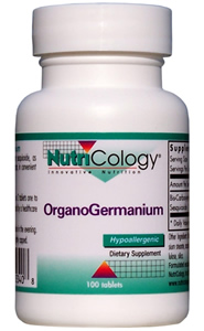 Image of Germanium 100 mg Organic Tablet (OrganoGeranium)