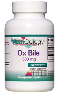 Image of Ox Bile 500 mg
