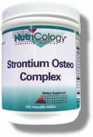 Image of Strontium Osteo Complex Chewable