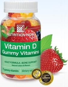 Image of Vitamin D3 Gummy Vitamins 1000 IU