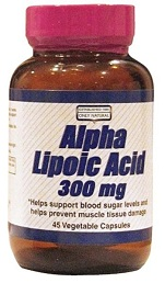 Image of Alpha Lipoic Acid 300 mg