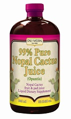 Image of Nopal Cactus Juice 99% Pure Liquid