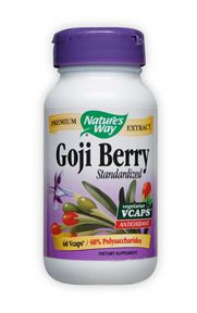 Image of Goji Berry Standardized Extract 500 mg