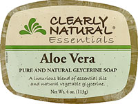 Image of Clearly Natural Glycerine Bar Soaps Aloe Vera