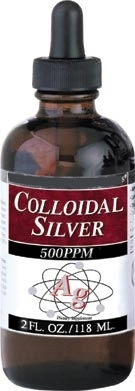 Image of Colloidal Silver High Potency 500 ppm
