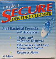 Image of Secure Denture Cleanser Tablet