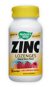 Image of Zinc Lozenges with Echinacea & Vitamin C