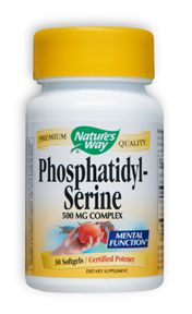 Image of Phosphatidyl Serine Complex 500 mg