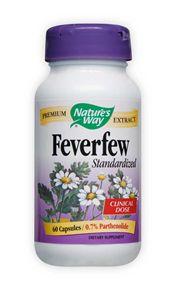 Image of Feverfew Standardized Extract 290 mg