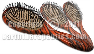 Image of Brush Lacquer Pin Cushion with Tiger Stripe Regular