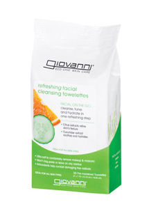 Image of Facial Cleansing Towelettes REFRESHING Citrus & Cucumber