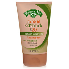Image of Sun Care Mineral Kid's Block SPF 20 (Fragrance Free)