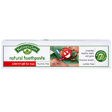 Image of Toothpaste Cherry Gel for Kids with Fluoride