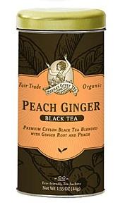 Image of Peach Ginger Tea (Black Tea)