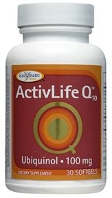 Image of ActivLife Q10 Ubiquinol 100 mg