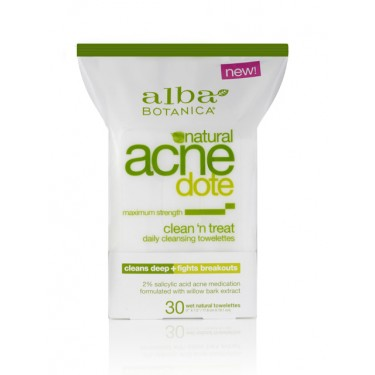 Image of AcneDote Clean 'n Treat Cleansing Towelettes