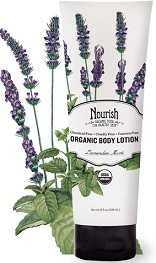 Image of Organic Body Lotion Lavender Mint