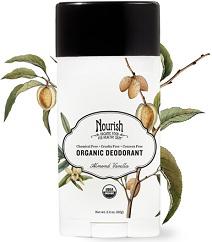Image of Organic Deodorant Almond Vanilla