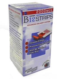 Image of B12 Strips 1000 mg