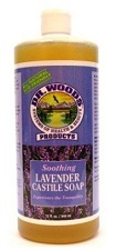 Image of Dr. Woods Castile Soap Liquid Soothing Lavender