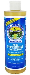 Image of Dr. Woods Castile Soap Liquid Peppermint