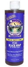 Image of Dr. Woods Castile Soap Liquid Black Soap
