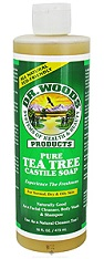 Image of Dr. Woods Castile Soap Liquid Tea Tree
