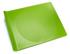 Image of Plastic Cutting Board Large Green Apple