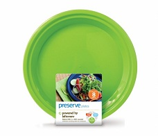 Image of On the Go Plate Large Green Apple