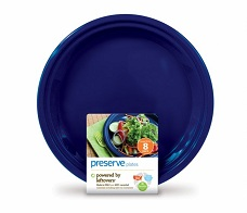 Image of On the Go Plate Large Midnight Blue