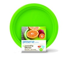 Image of On the Go Plate Small Green Apple
