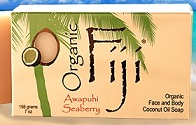 Image of Coconut Oil Soap Bar Organic Awapuhi Seaberry