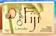 Image of Coconut Oil Soap Bar Organic Lavender
