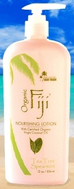 Image of Nourishing Lotion with Coconut Oil for Face & Body Tea Tree Spearmint