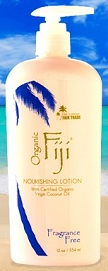 Image of Nourishing Lotion with Coconut Oil for Face & Body Fragrance Free