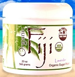 Image of Coconut Sugar Polish Organic Lavender
