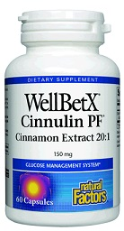 Image of WellBetX CinnulinRich Cinnamon Extraxt 20:1 150 mg