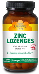 Image of Zinc Lozenges with Vitamin C 23/100 mg Cherry