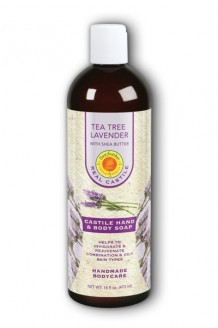Image of Liquid Castile Soap Tea Tree Lavender